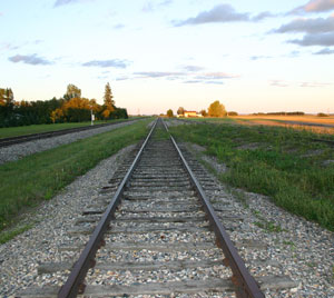 Macoun and Fleming were trying to determine the route for the western railroad.