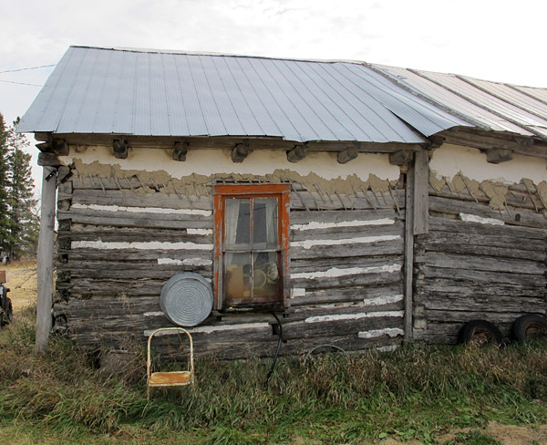 The farm includes several wonderful buildings from the original Ukrainian settlement of this area, about a century ago.