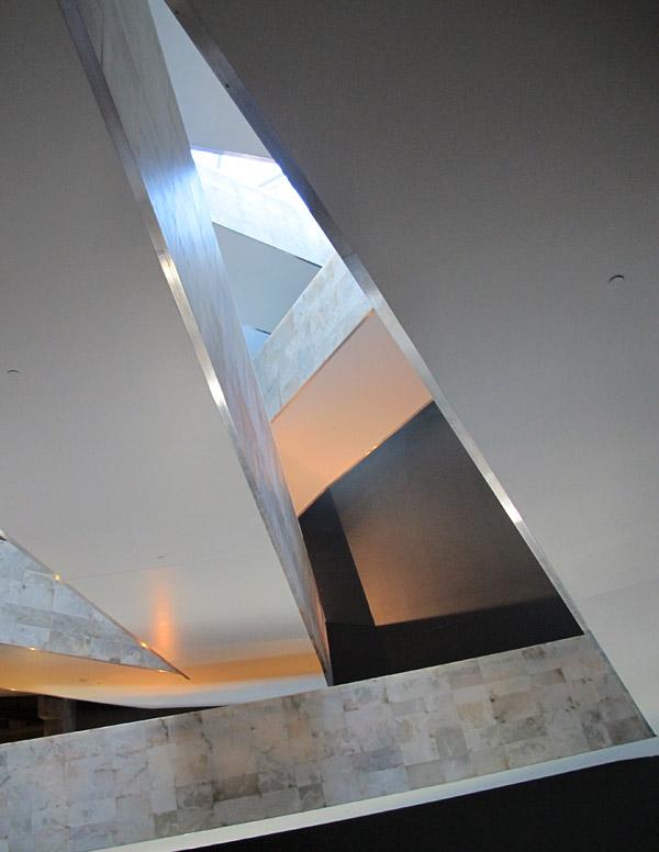 Remarkable ramp geometry