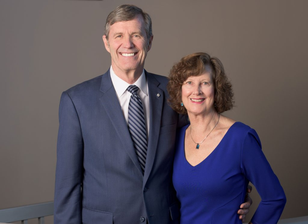 Gregg and Mary Hanson