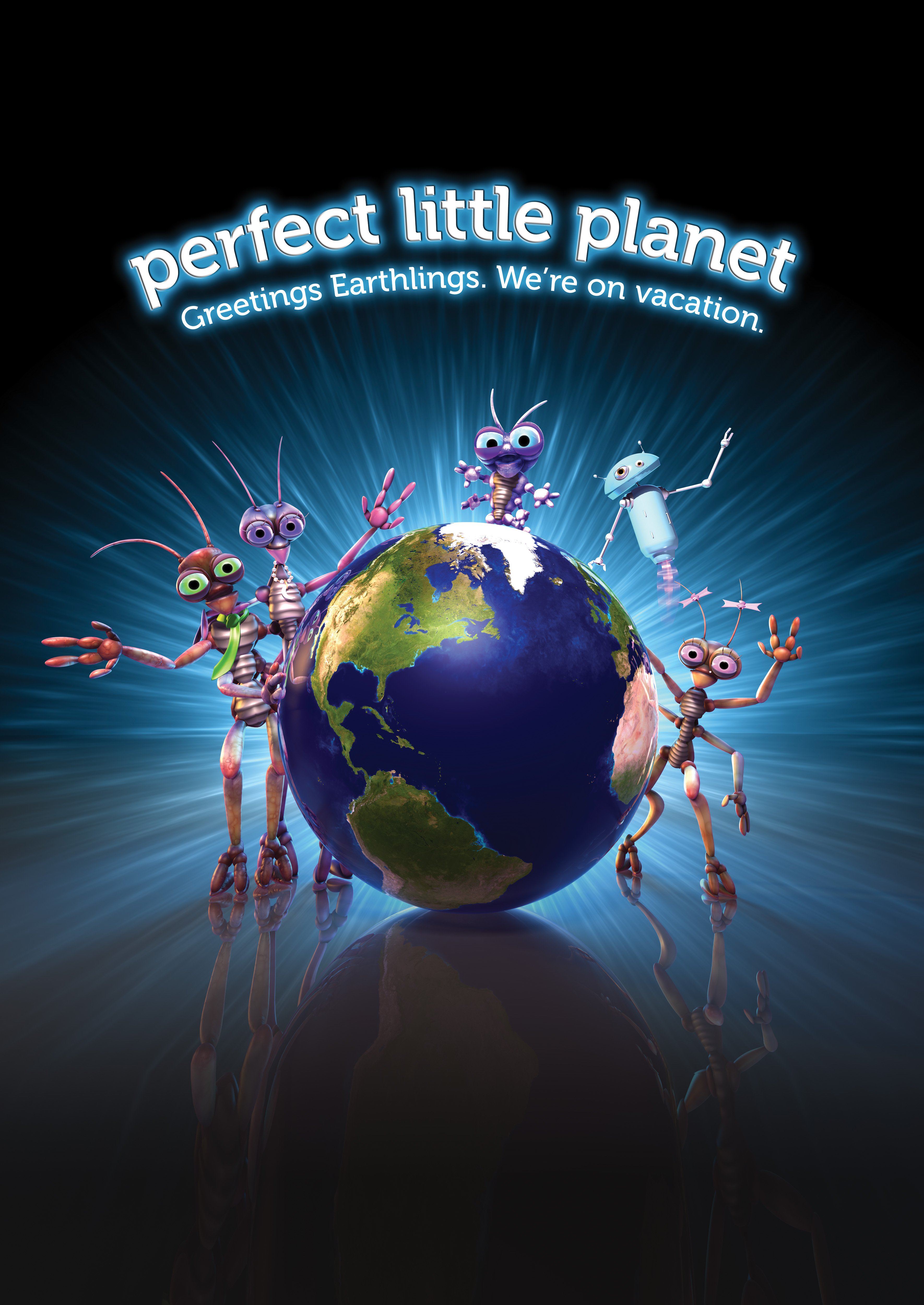 Perfect Little Planet Poster. \