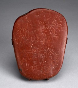 Incised Pipestone tablet