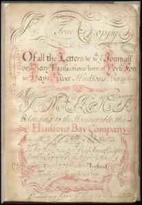 York Factory Post Journal, September 1714 (HBCA-B239-a-1-001)