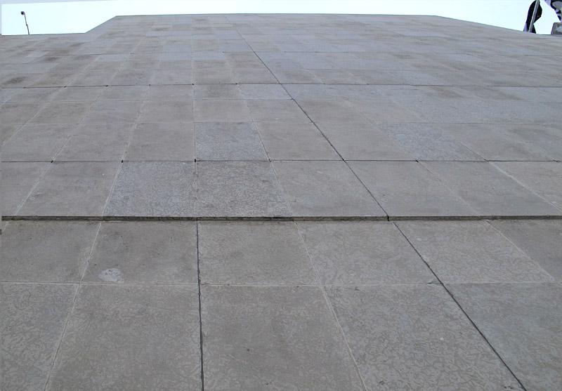 Tyndall Stone wall