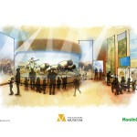 Concept art of Orientation Gallery