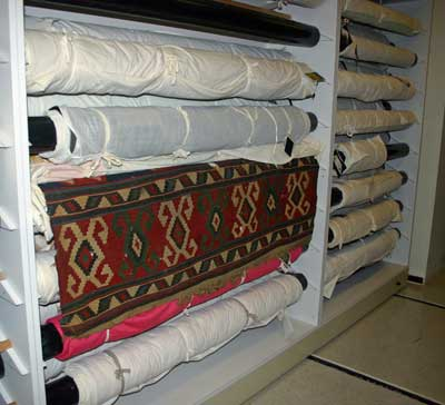 The Museum's collection of textiles includes some hempen rugs.
