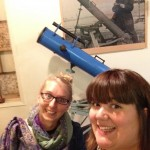 Telescope Selfie