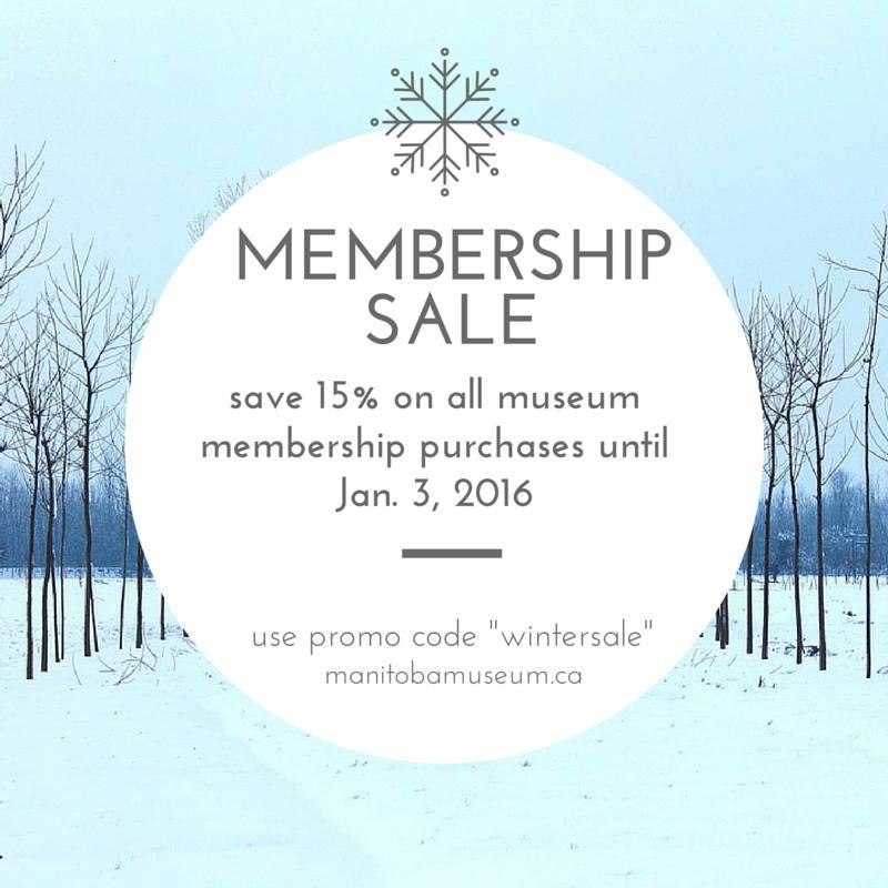 Winter membership sale