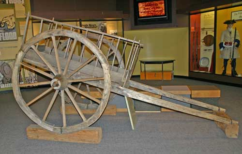 John travelled across the prairies with a Red River cart to store provisions and plant specimens.