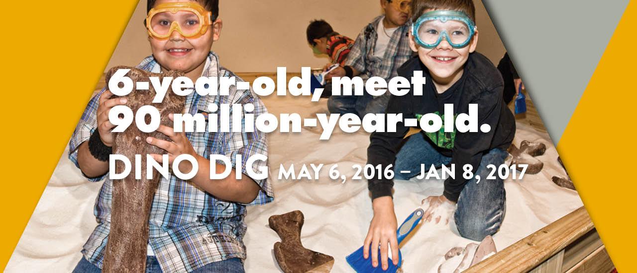 6-Year-old, meet 90 million-year-old