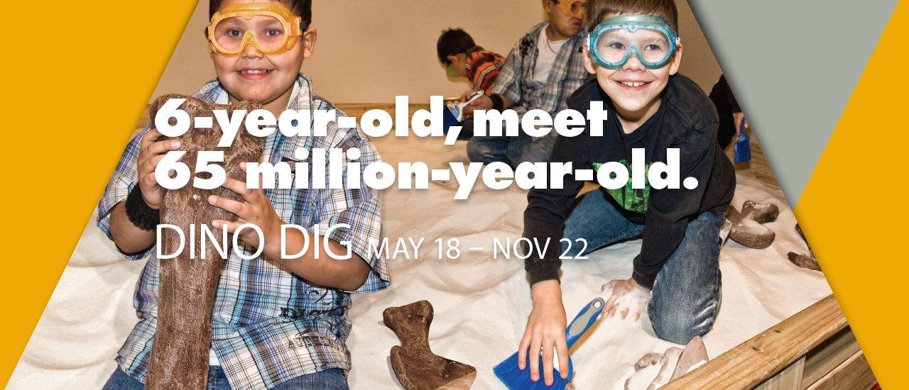 9-year-old, meet 65-million-year-old.