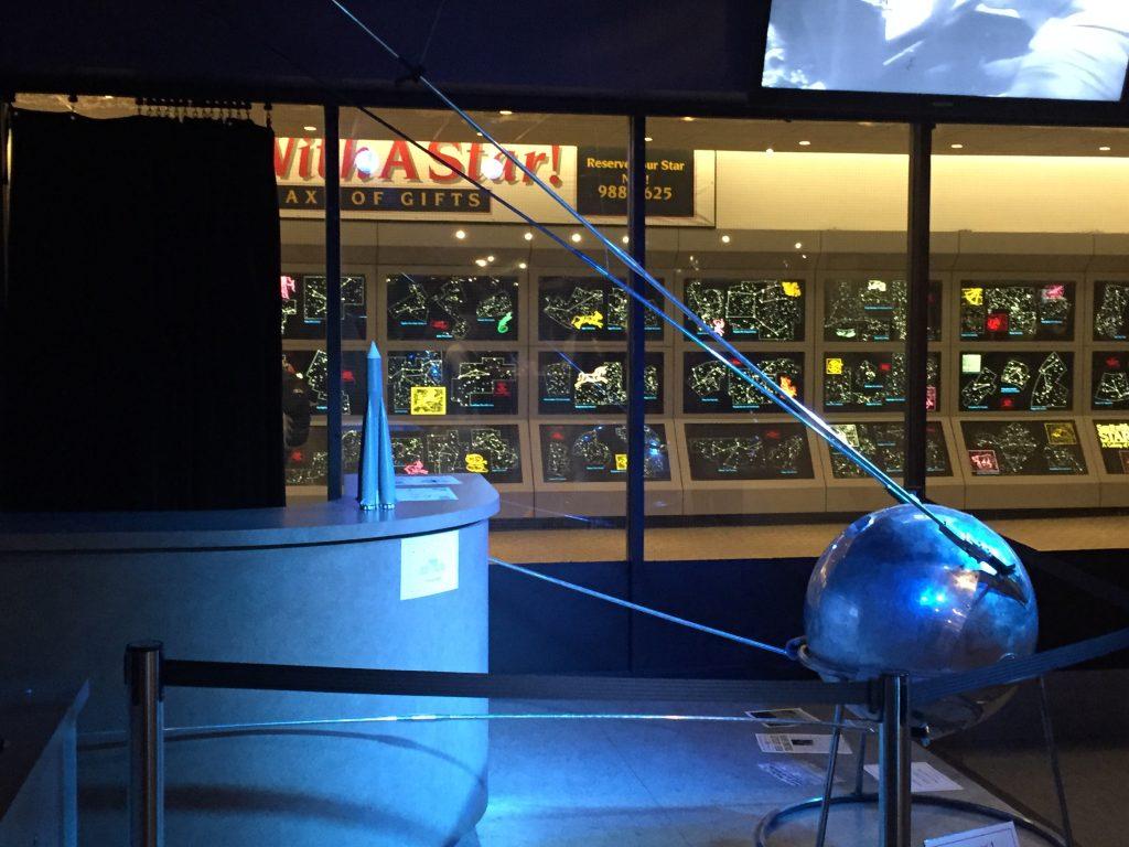 Sputnik satelite
