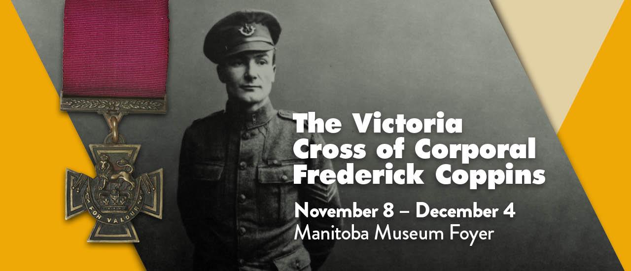 The Victoria Cross of Corporal Frederick Coppins