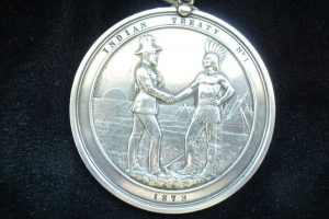 Treaty No. 1 Medal