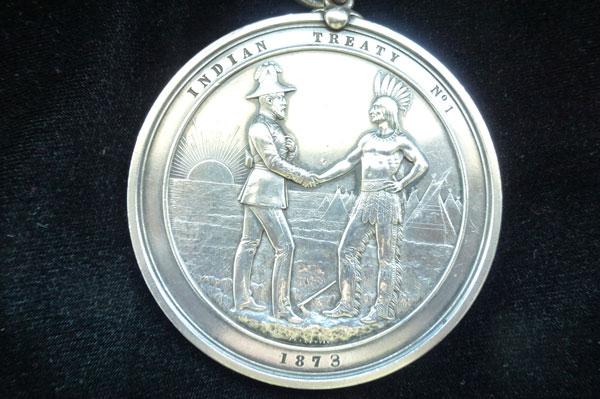 Treaty No. 1 Medal