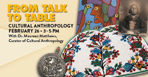 From Talk to Table: Cultural Anthropology