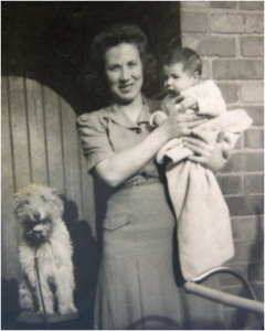 Betty Craddock with son Anthony. © Anthony Craddock