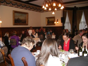 The conference banquet was also in a historic building, the Union Club