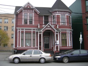 Historic house in Saint John, New Brunswick, where I attended a conference