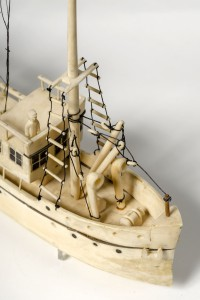 Ch.1: A Chukchi [Siberia] ivory model of the SS Baychimo, TMM HBC 73-298.