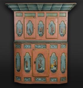 Norwegian Cabinet, circa 1790.