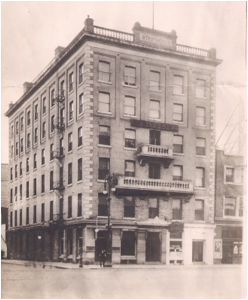 The Strathcona Hotel (later the Cornwall), 1905-1965.